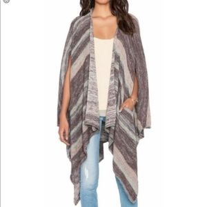 Free People | Big Trail Poncho Cardigan